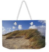 Wind Blown Grass Tussocks Precariously Weekender Tote Bag