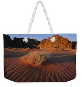 Wind Makes Waves In The Sand Weekender Tote Bag