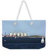 Wind Power Weekender Tote Bag