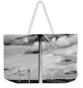 Wind Turbines Mono Weekender Tote Bag