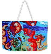 Winding Sun Weekender Tote Bag by Genevieve Esson