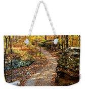 Winding Trail Weekender Tote Bag
