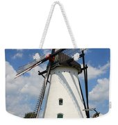 Windmill And Blue Sky Weekender Tote Bag