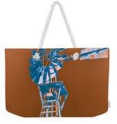 Windmill Blue Weekender Tote Bag