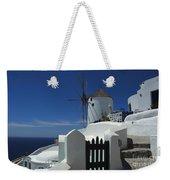 Windmill Greek Islands Weekender Tote Bag
