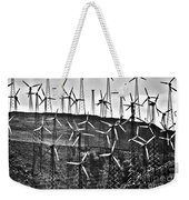 Windmills By Tehachapi  Weekender Tote Bag by Susanne Van Hulst