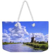 Windmills In Holland Weekender Tote Bag