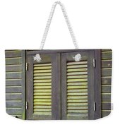 Window And Moss Weekender Tote Bag by Carlos Caetano