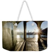 Window And Sun Weekender Tote Bag