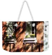 Window Boxes Greenwich Village Weekender Tote Bag