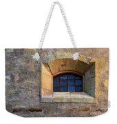 Window Detail At Carmel Weekender Tote Bag