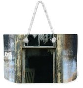 Window In Old Wall Weekender Tote Bag by Jill Battaglia