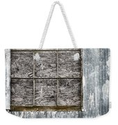 Window In Time 3 Weekender Tote Bag