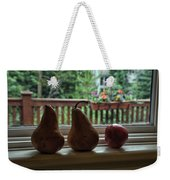 Windowsill 1 Weekender Tote Bag