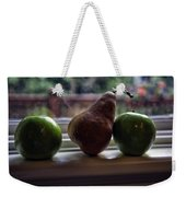 Windowsill 3 Weekender Tote Bag