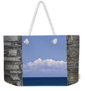 Window View At Fayette State Park Michigan Weekender Tote Bag