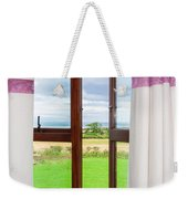 Window View Weekender Tote Bag