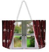 Window With Curtains Weekender Tote Bag