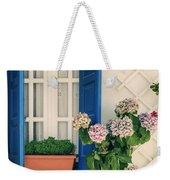 Window With Flowers Weekender Tote Bag