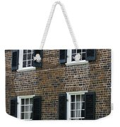Windows At The Clover Hill Tavern Appomattox Virginia Weekender Tote Bag
