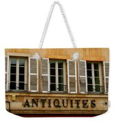 Windows Of Antiquites Weekender Tote Bag