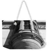 Windows On The Dakota In Black And White Weekender Tote Bag