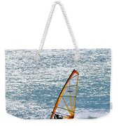 Windsurfer, Baja, Mexico Weekender Tote Bag