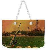 Windsurfer In Paradise Weekender Tote Bag