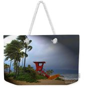 Windy Day In Haleiwa Weekender Tote Bag