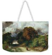 Windy Hilltop Weekender Tote Bag by Thomas Moran