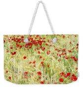 Windy Poppies Weekender Tote Bag