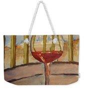 Wine By The Water Weekender Tote Bag