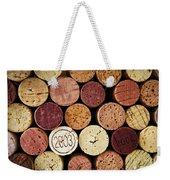 Wine Corks Weekender Tote Bag by Elena Elisseeva
