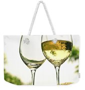 Wine Glasses Weekender Tote Bag by Elena Elisseeva