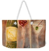 Wine Or Martini? Weekender Tote Bag