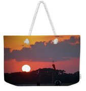 Wings At Rest Under The Sunset Weekender Tote Bag