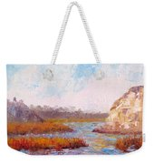 Winter At The Back Bay Weekender Tote Bag