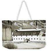 Winter Barn 2 Weekender Tote Bag