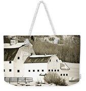Winter Barn 4 Weekender Tote Bag