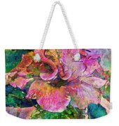 Winter Bloom Weekender Tote Bag