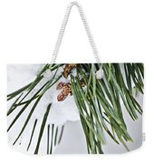 Winter Branches Weekender Tote Bag