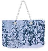 Winter Coat Weekender Tote Bag