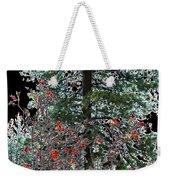Winter Color Weekender Tote Bag