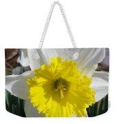 Winter Daffodil  Weekender Tote Bag