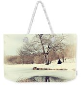 Winter Day In The Park Weekender Tote Bag