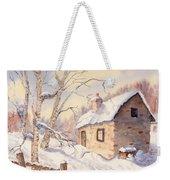 Winter Escape Weekender Tote Bag
