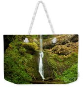 Winter Falls Weekender Tote Bag