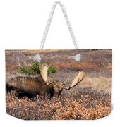 Winter Feed Weekender Tote Bag