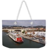 Winter In Coolidge Park Weekender Tote Bag