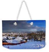 Winter In Inverness Weekender Tote Bag